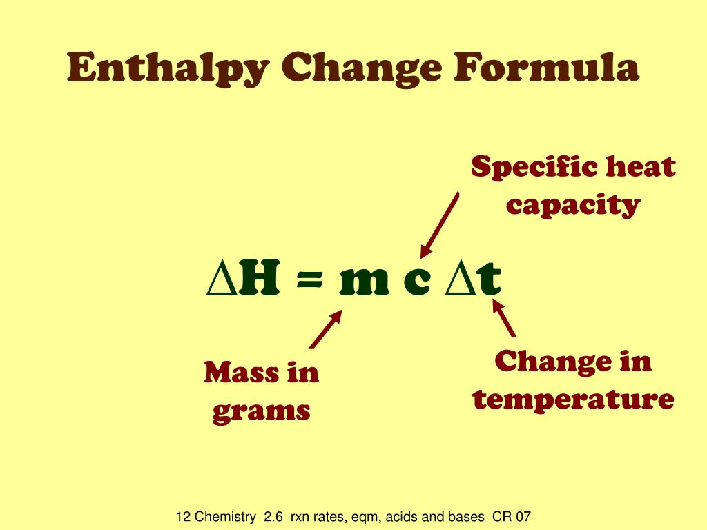 PPT - Measuring Enthalpy Changes PowerPoint Presentation ...