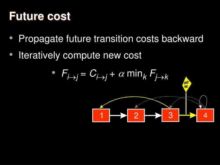 Future cost
