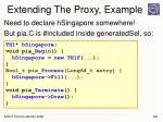 extending the proxy example