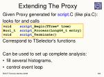 extending the proxy