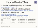 how to read a ttree1