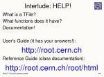 interlude help