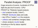 parallel analysis proof