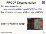 proof documentation