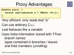 proxy advantages