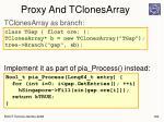 proxy and tclonesarray1