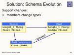 solution schema evolution1