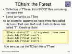 tchain the forest