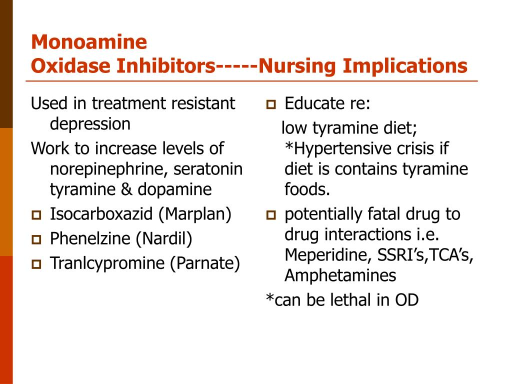 PPT - Psychopharmacological Therapies & Nursing Implications