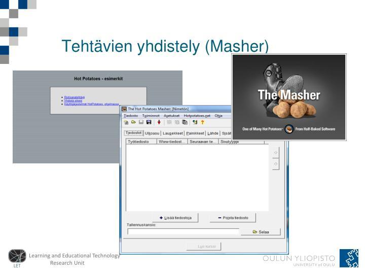 Tehtävien yhdistely (Masher)