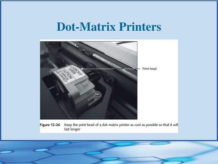 Dot-Matrix Printers