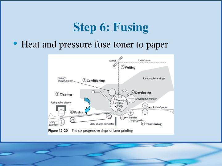 Step 6: Fusing