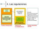 4 las regulaciones