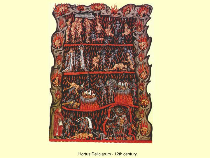 Hortus Deliciarum - 12th century
