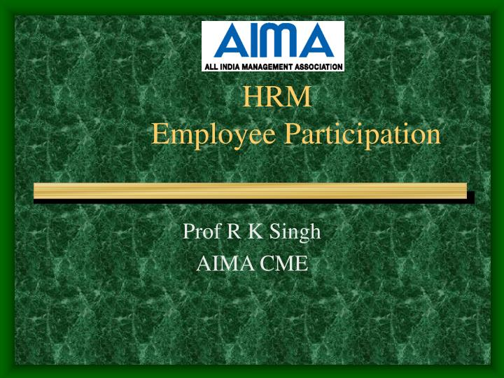 human resource management participation workbook Even though specific human resource functions/activities are the responsibility of the human resource department, the actual management of human resources is the responsibility of all the managers in an organization 750 workbook price: rs 700 available only in india.