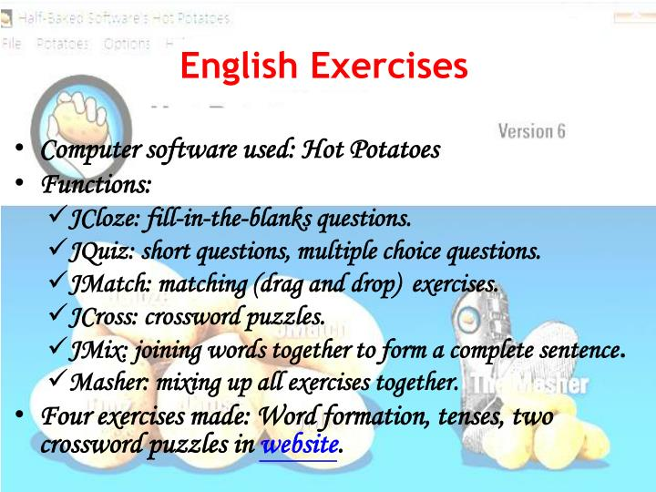 English Exercises