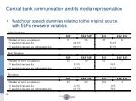 central bank communication and its media representation3