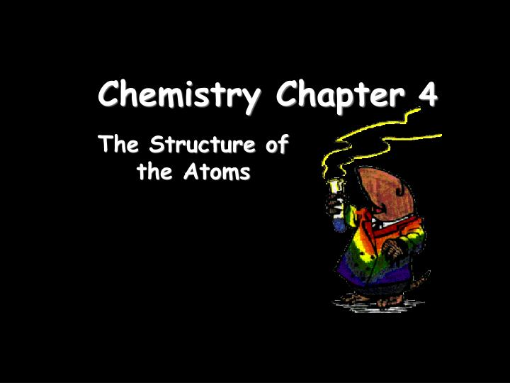 chemistry chapter 4 n.
