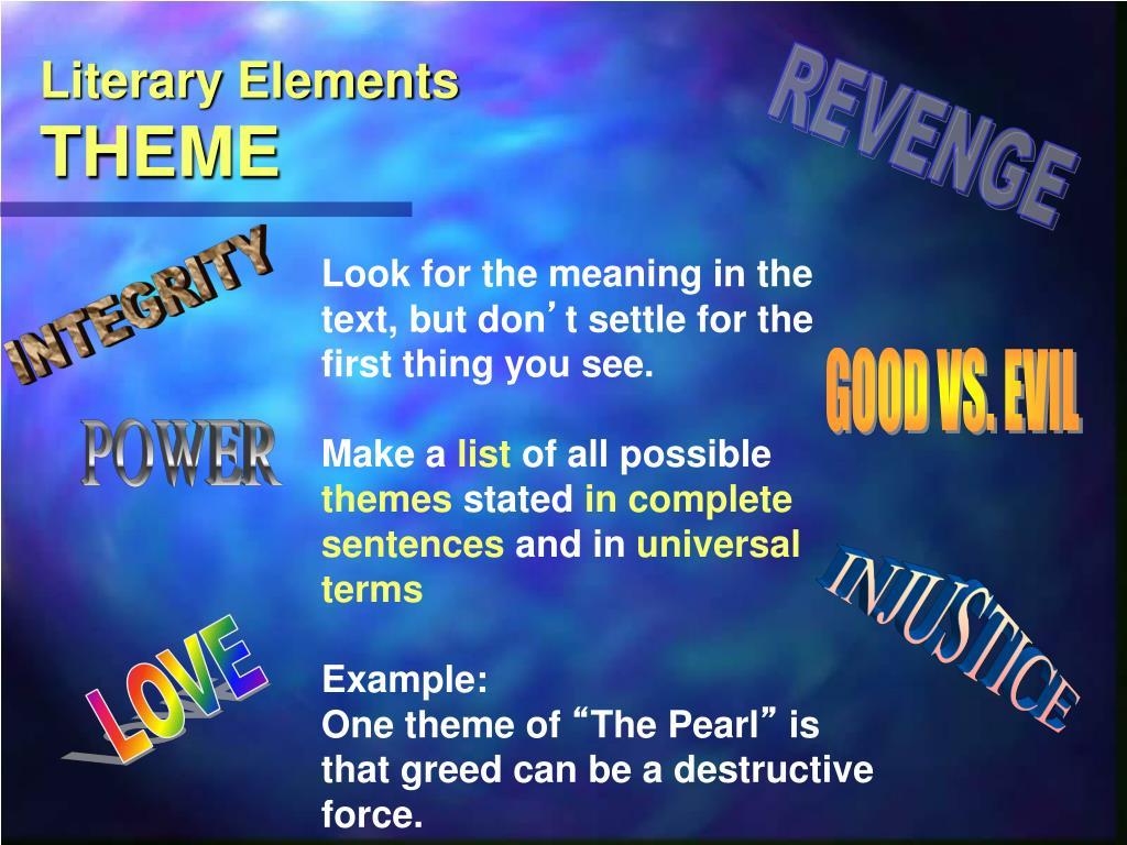PPT - Literary Analysis PowerPoint Presentation - ID:5120854