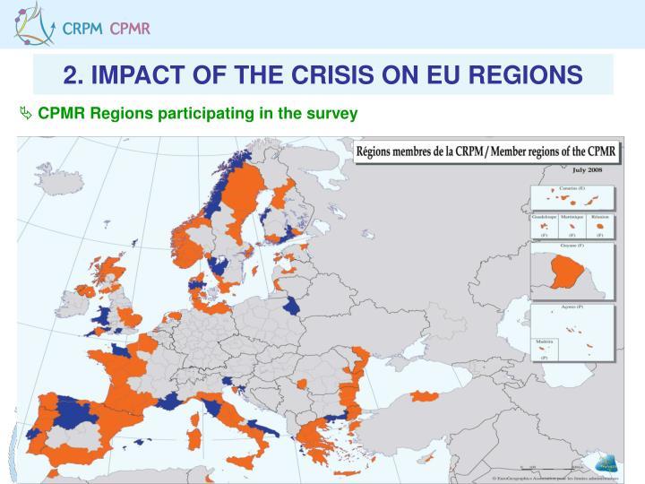2. IMPACT OF THE CRISIS ON EU REGIONS