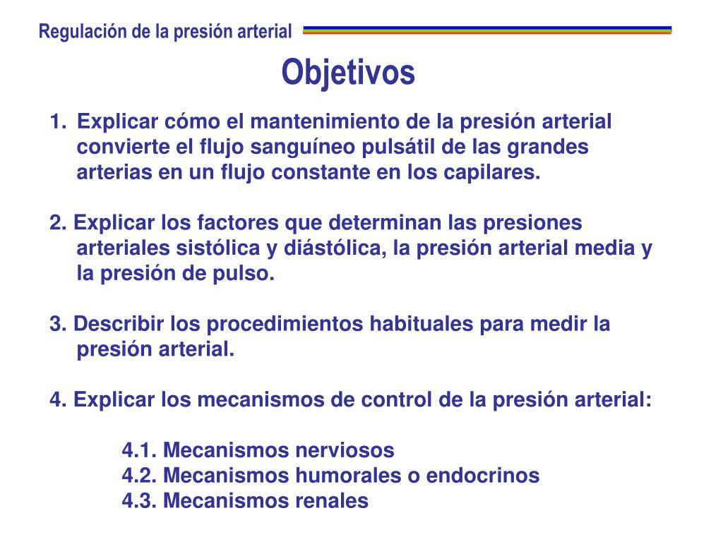 Definicion de presion arterial media