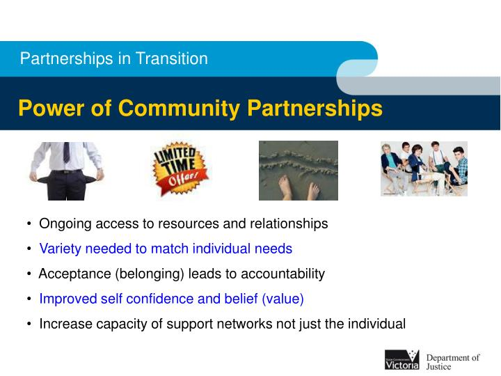 Partnerships in Transition