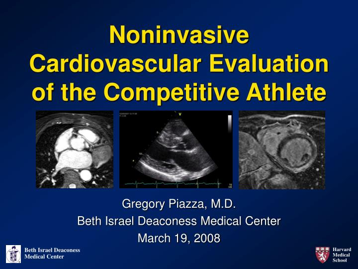 noninvasive cardiovascular evaluation of the competitive athlete n.