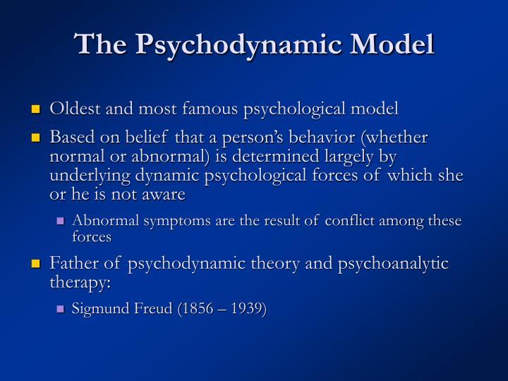 The Psychodynamic Model