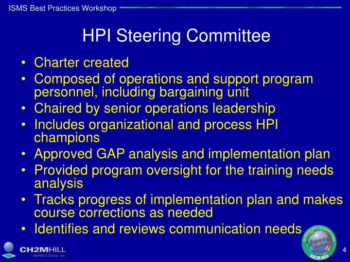 HPI Steering Committee