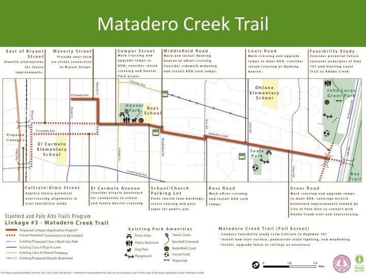 Matadero Creek Trail