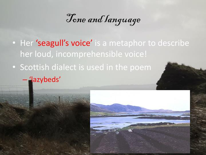 Tone and language