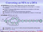 converting an nfa to a dfa