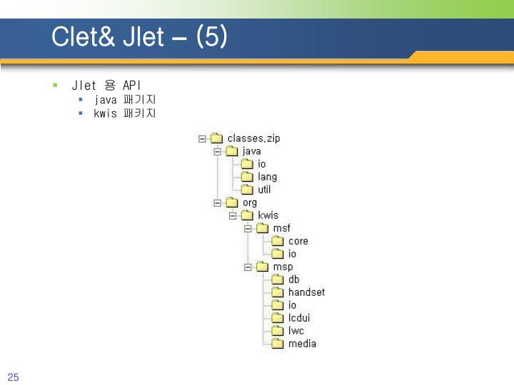 Clet& Jlet
