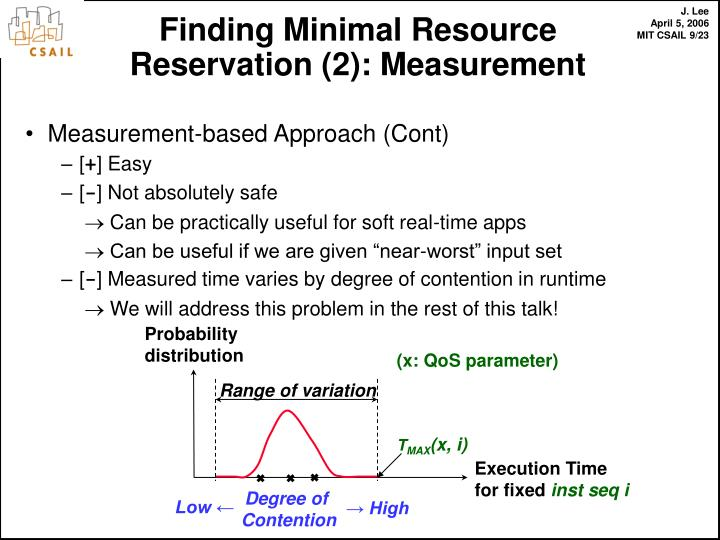 Measurement-based Approach (Cont)