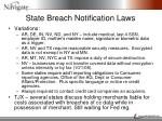 state breach notification laws1