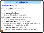 jcombobox methods1