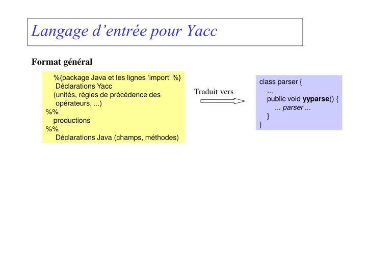 class parser {