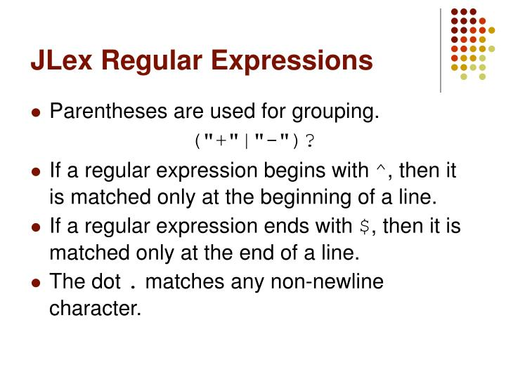 regular expression paranthesis 4 using regular expressions in oracle regular expressions enable you to search for patterns in string data the parentheses cause an expression to be.
