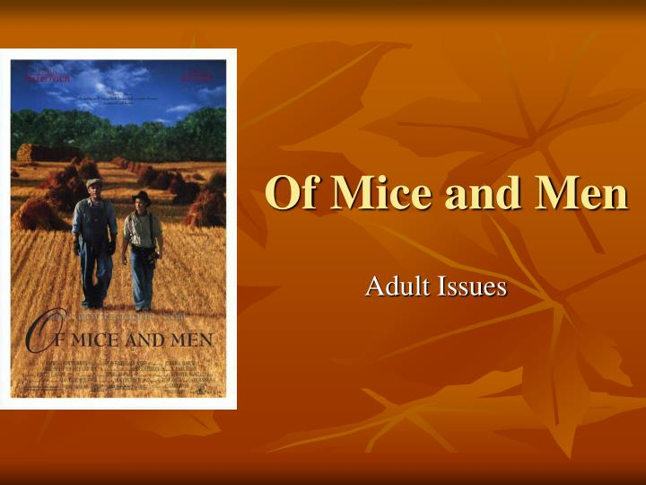 sexism in of mice and men