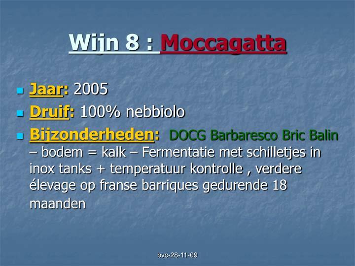 Wijn 8 :
