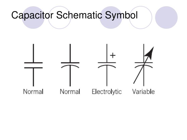 Capacitor Schematic Symbol