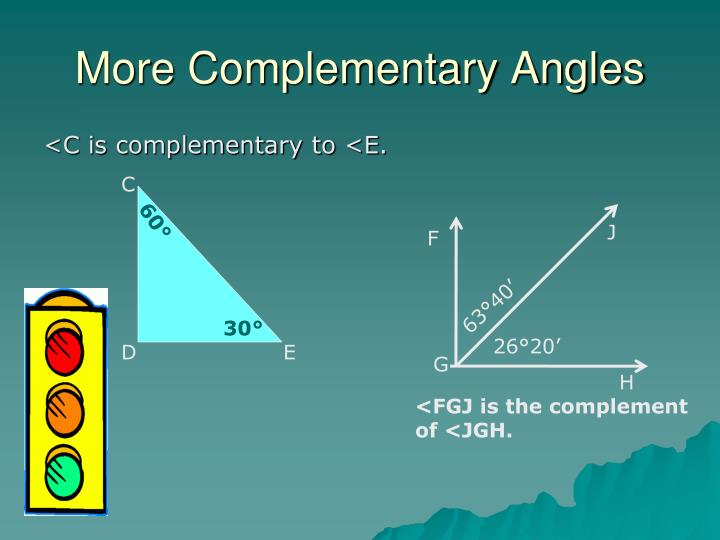 More Complementary Angles