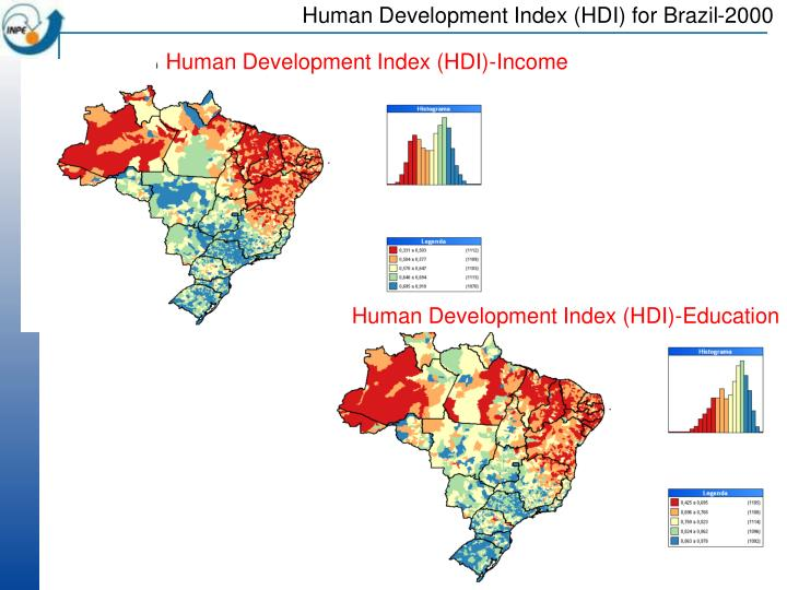 Human Development Index (HDI) for Brazil-2000