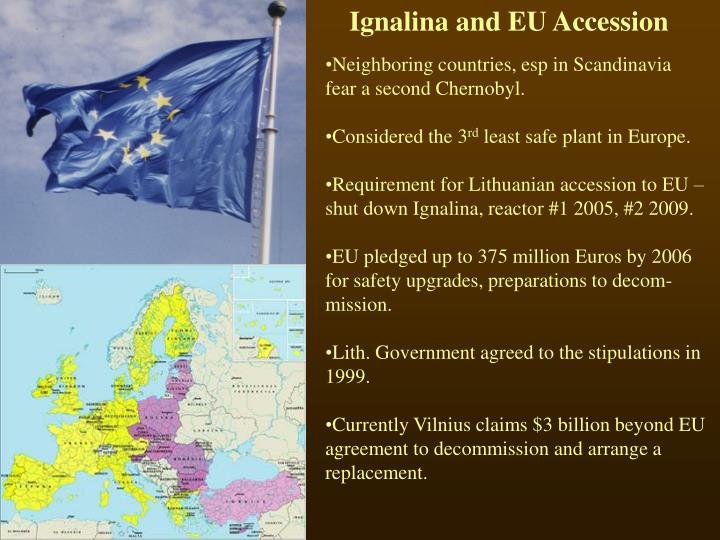 Ignalina and EU Accession