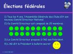 lections f d rales