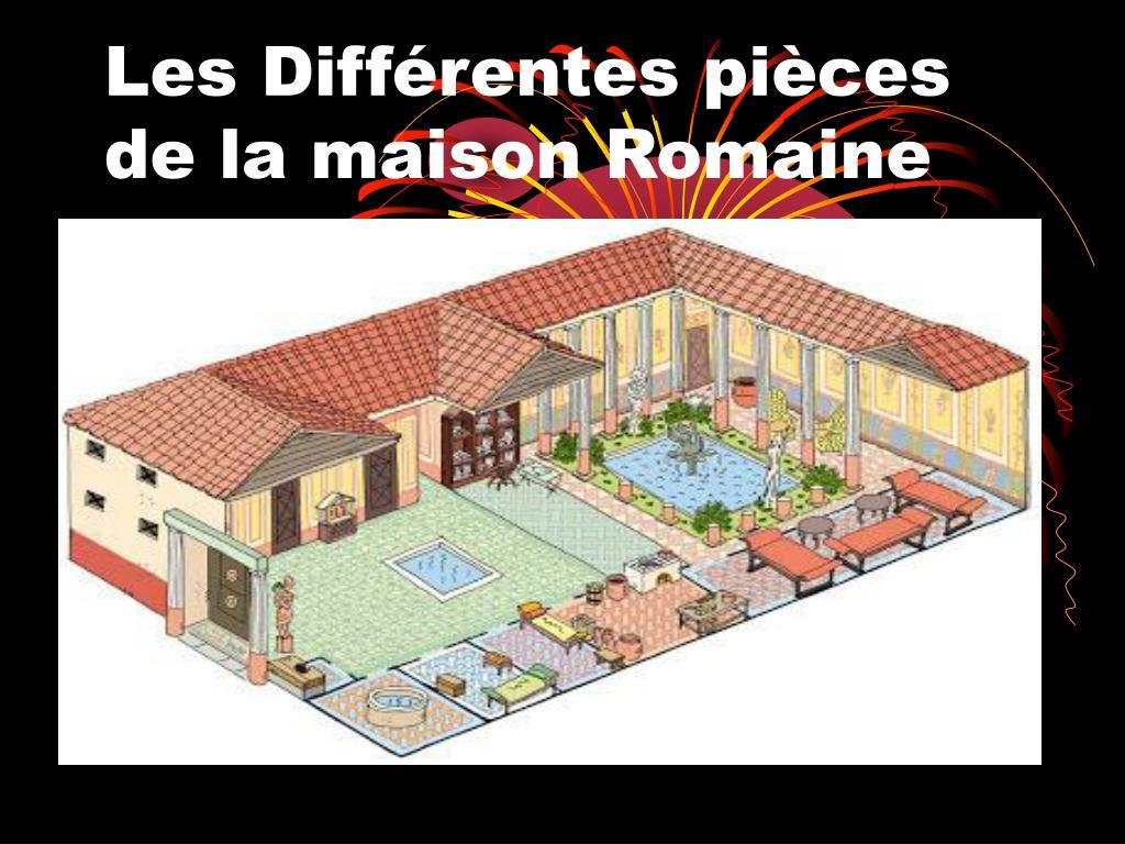 Ppt Les Differentes Pieces De La Maison Romaine Powerpoint Presentation Id 5123857