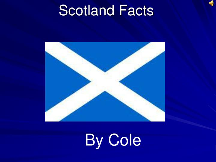 scotland facts n.