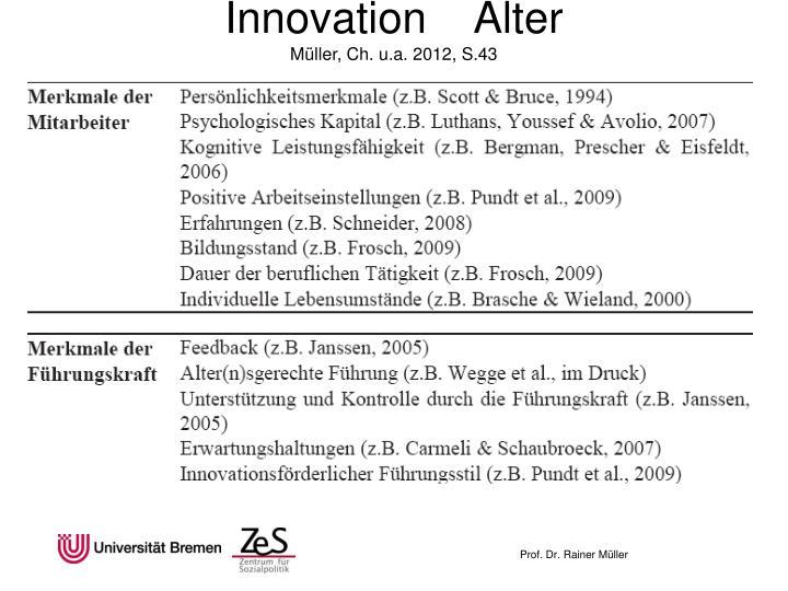Innovation    Alter