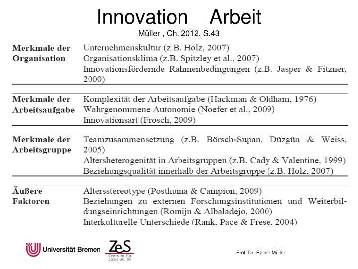 Innovation    Arbeit