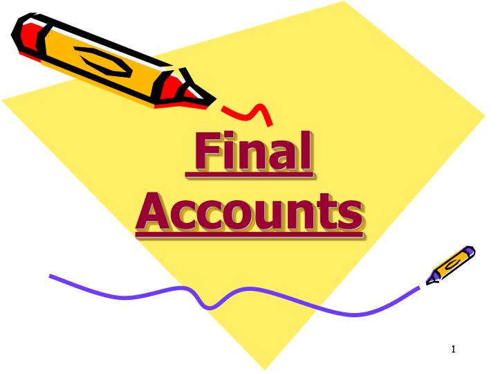 PPT Final Accounts PowerPoint Presentation ID 5124221